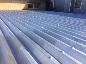 折半トタン屋根塗装